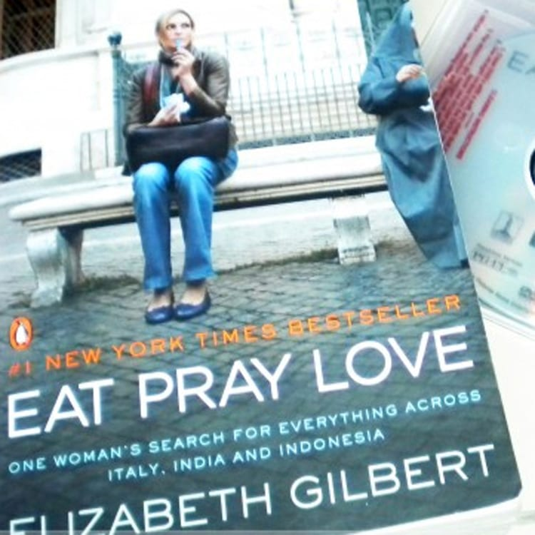 Eat Pray Love dinner and a movie idea
