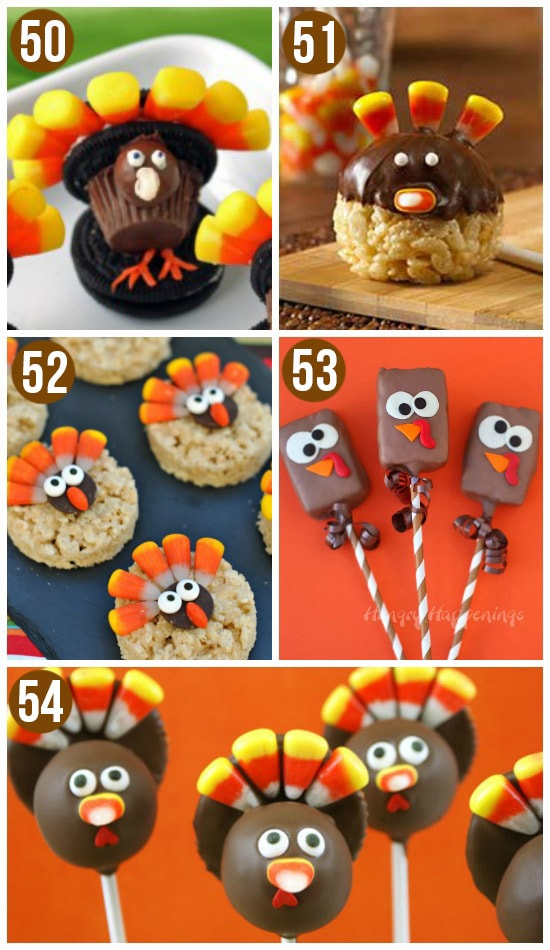 Edible Thanksgiving Crafts for Kids