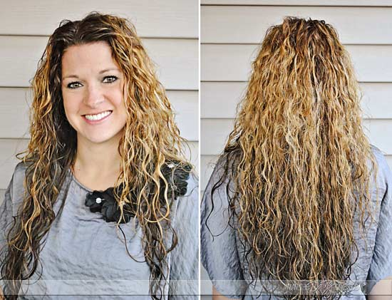 how to keep wet hair straight overnight