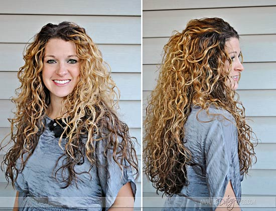how to make end of straight hair curl in
