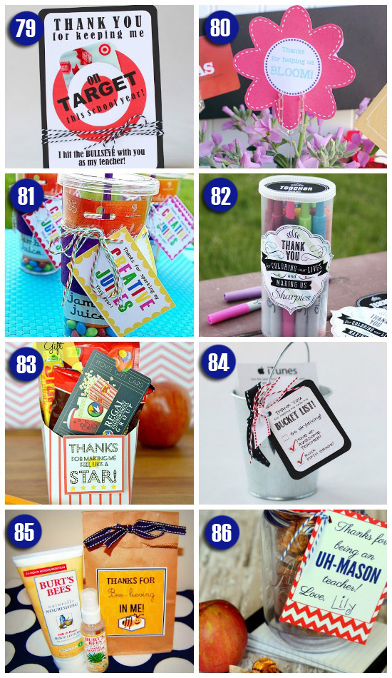 101 easy creative teacher gift ideas end of the year teacher gift ideas negle Image collections