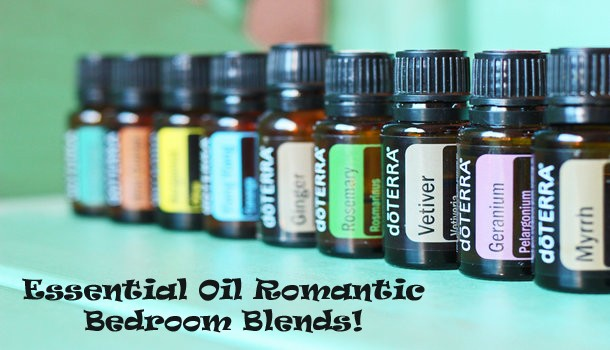 Essential Oil Romantic Bedroom Blends!
