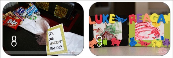 Father's Day Round Up: DIY Crafts!! Lots of cute and easy ideas to make for Father's Day!