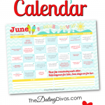 FREE June Love Calendar 2015
