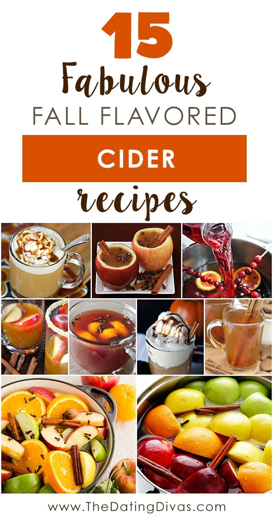 Fabulous Fall Flavored Hot Apple Cider Recipe