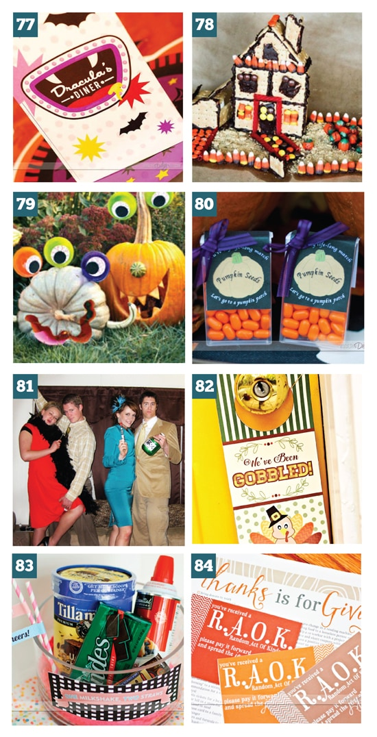 Fabulous Fall Group Date Ideas (FREE Printables Included)