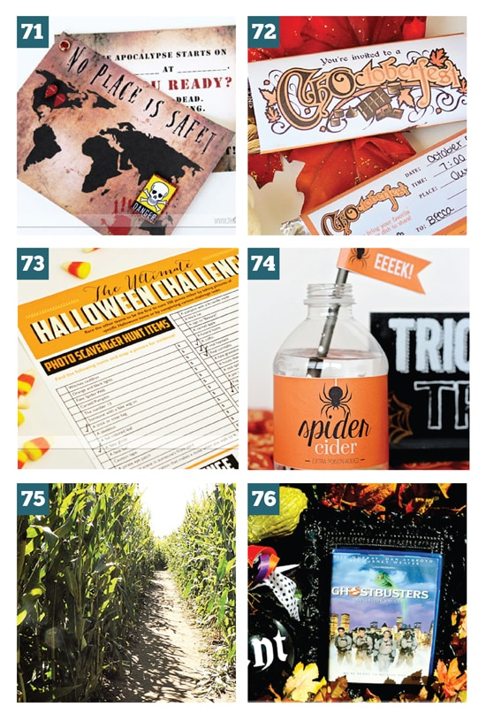 Fall Group Date Ideas (FREE Printables Included)