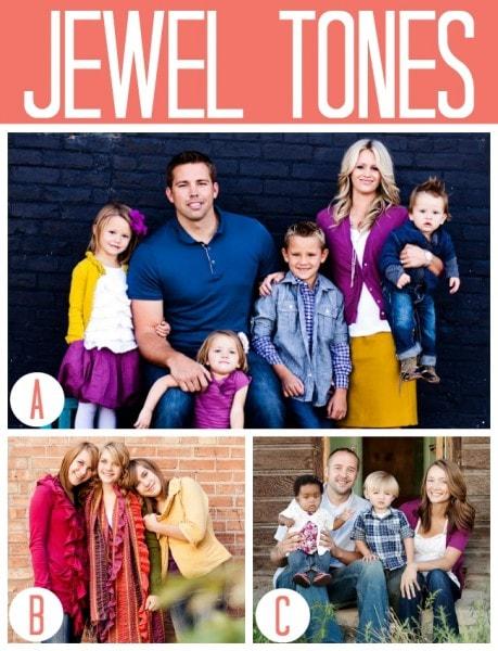Fall Jewel Tones