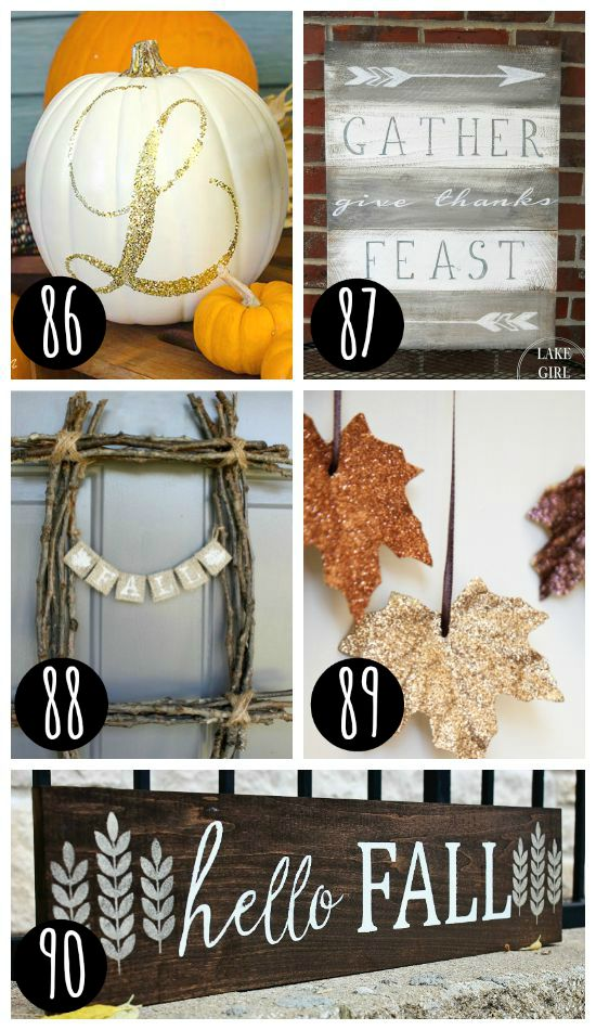 Fall decor for every home!