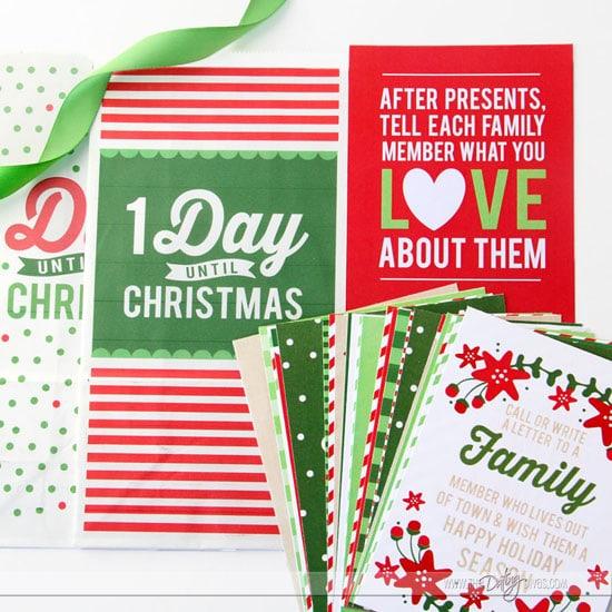 Family Advent Calendar Materials