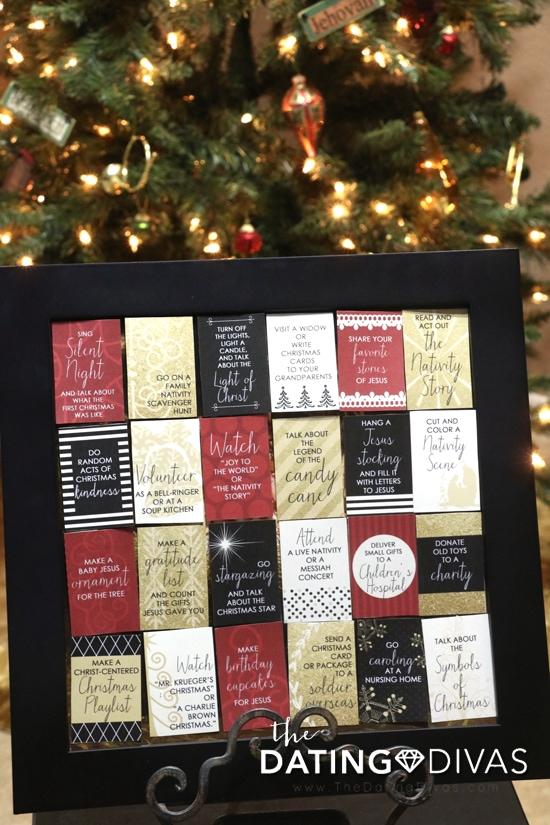 DIY Family Christmas Advent