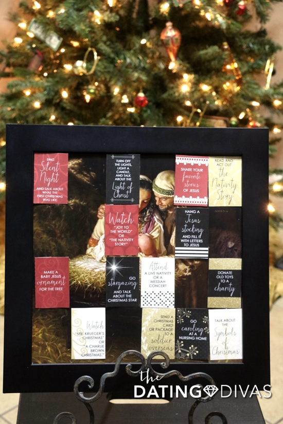 DIY Family Christmas Tradition Advent