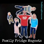 Family Fridge Magnets