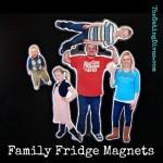 Family Fridge Magnets