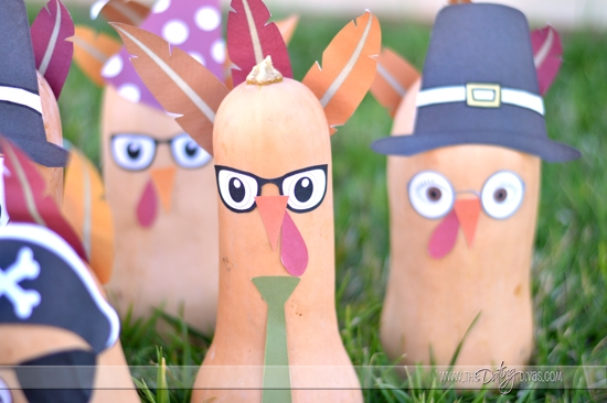 Thanksgiving Craft & Game - Turkey Bowling
