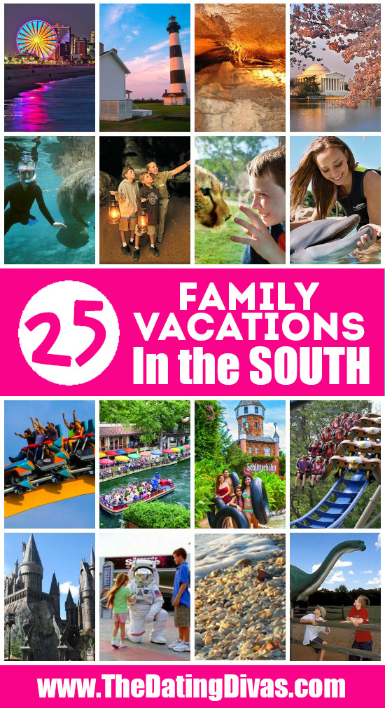 Fun Family Vacations in the South