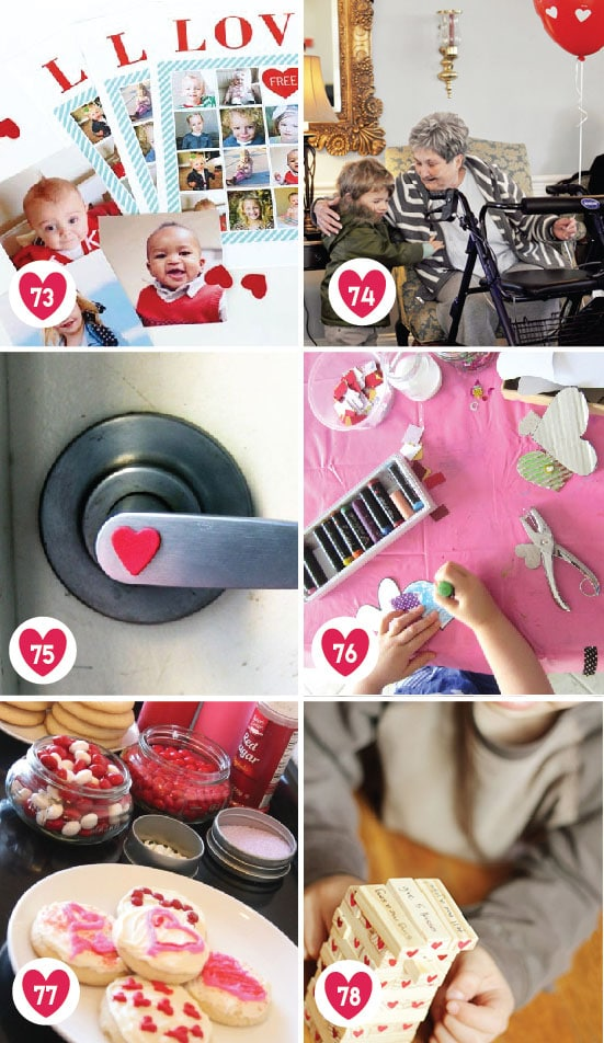 100 Date Ideas for Family Valentine's Day