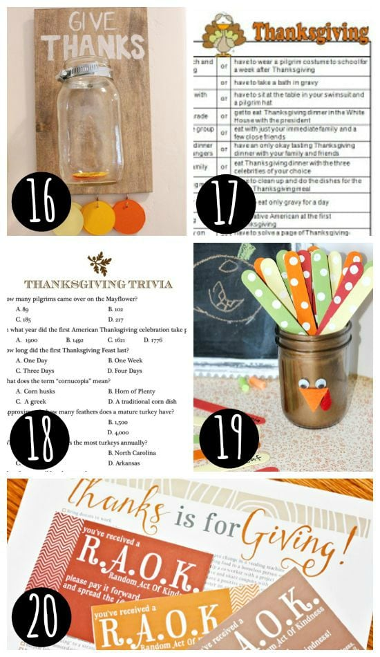 Thanksgiving traditions the whole family will love!