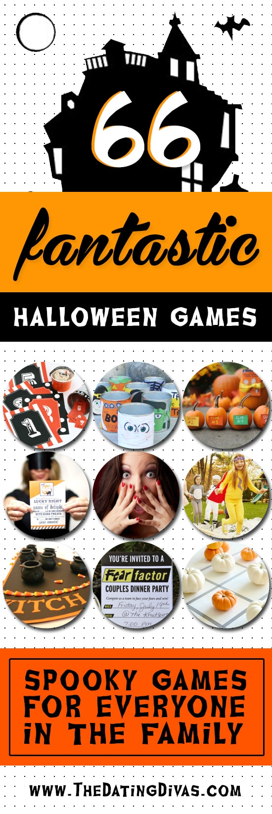 66 halloween games for the whole family - the dating divas