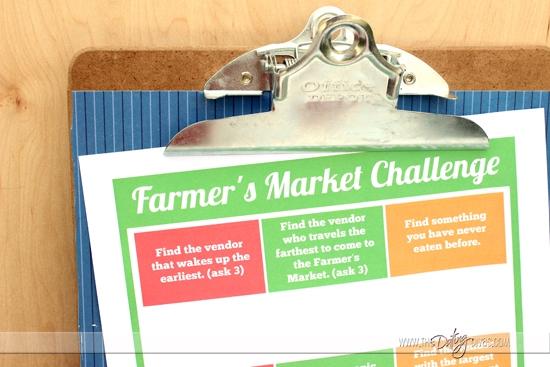 Farmer's Market Challenge