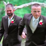 Father Surprises Stepdad at Daughter's Wedding
