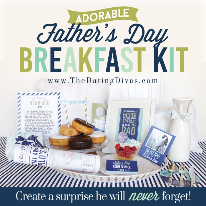 Father's Day Breakfast Kit
