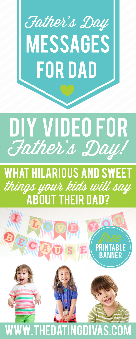 Father's Day Video Gift