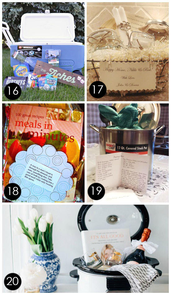 Creative Wedding Gift Basket Ideas : Creative Bridal Shower Gift Basket Ideas