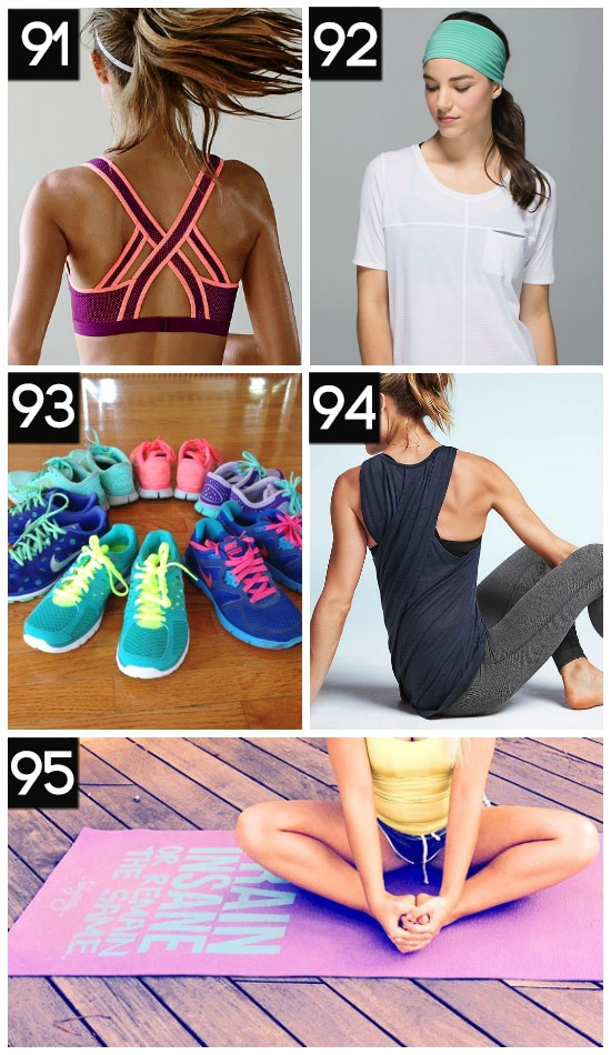 Favorite Fitness Products and Gear