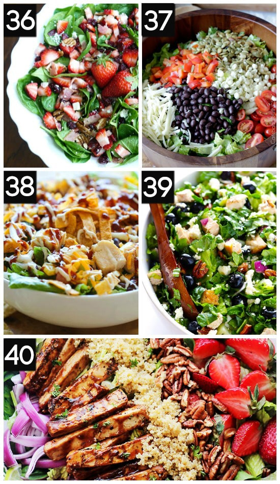 Favorite Healthy Salads