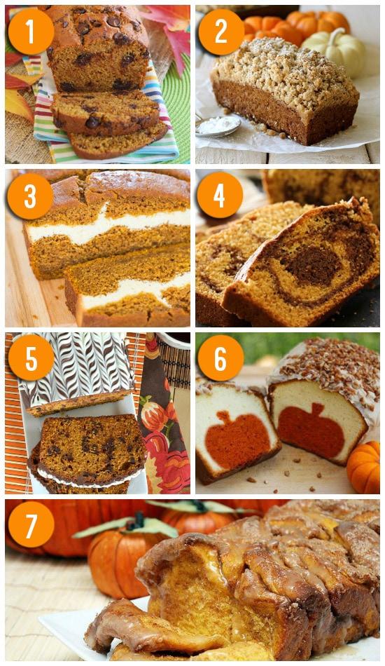 Favorite Pumpkin Bread Recipes