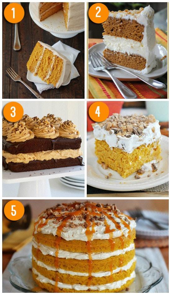 Favorite Pumpkin Cake Recipes