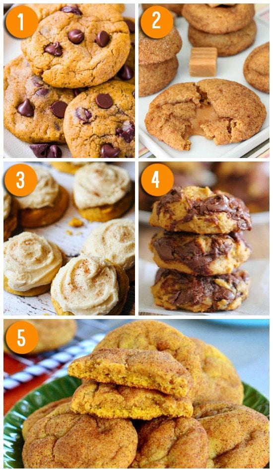 Favorite Pumpkin Cookie Recipes