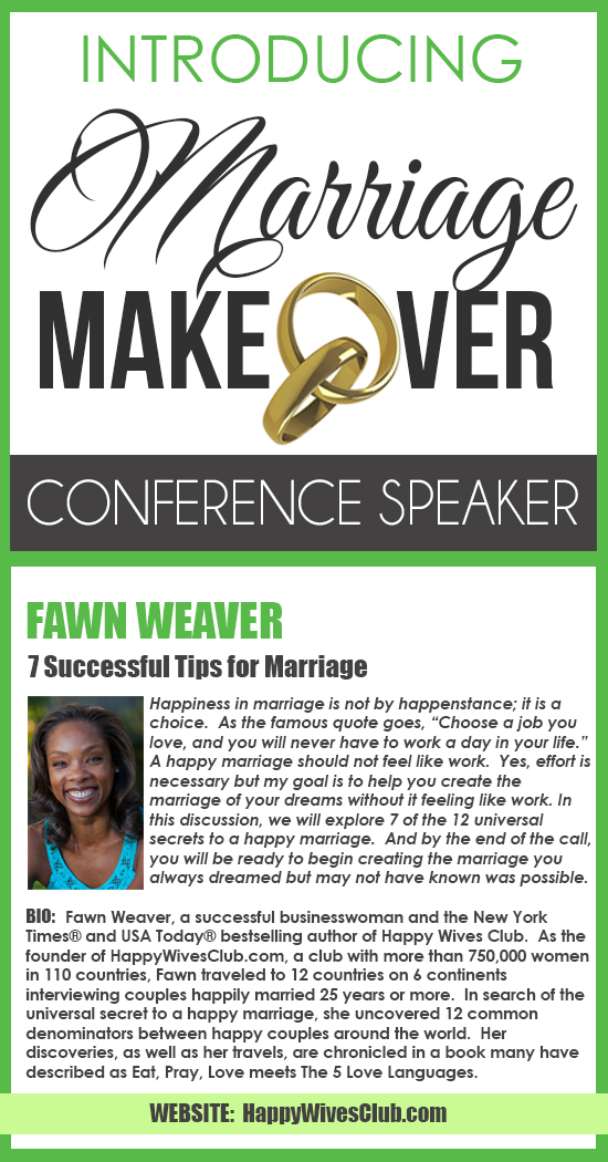 Camille- Marriage Makeover Conference Fawn Pinterest