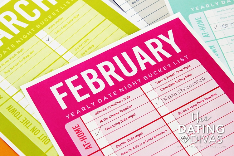 February Date Night List