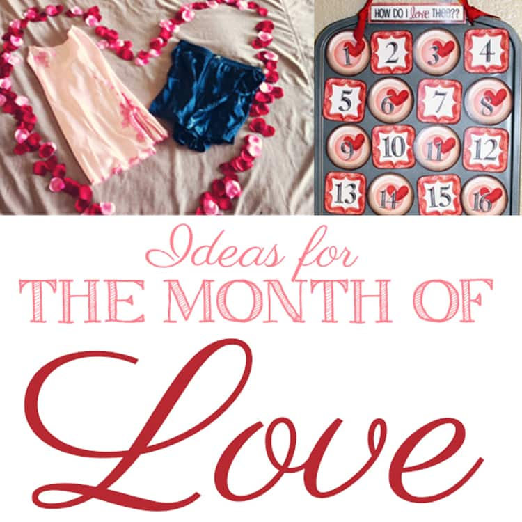 February Valentine's ideas