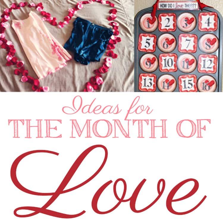 February Valentine's ideas