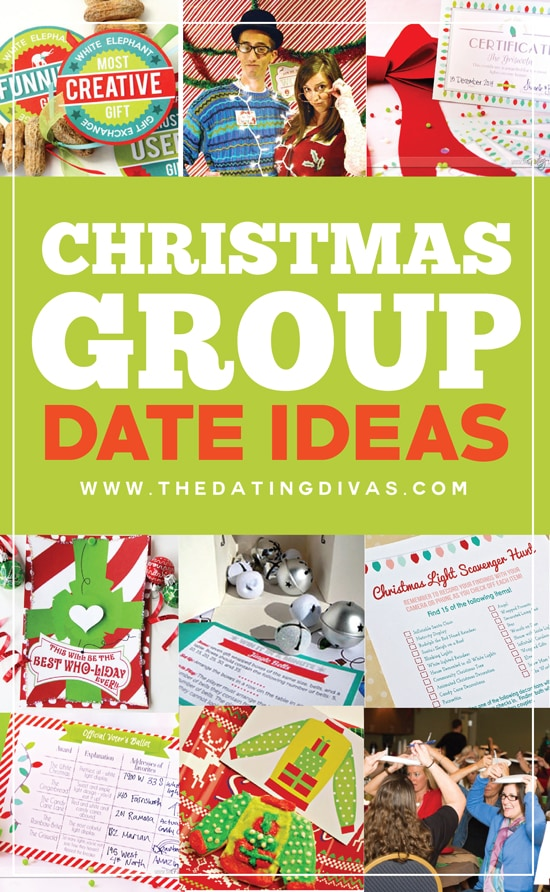 10 Festive Christmas Group Date Ideas (FREE Printables Included)