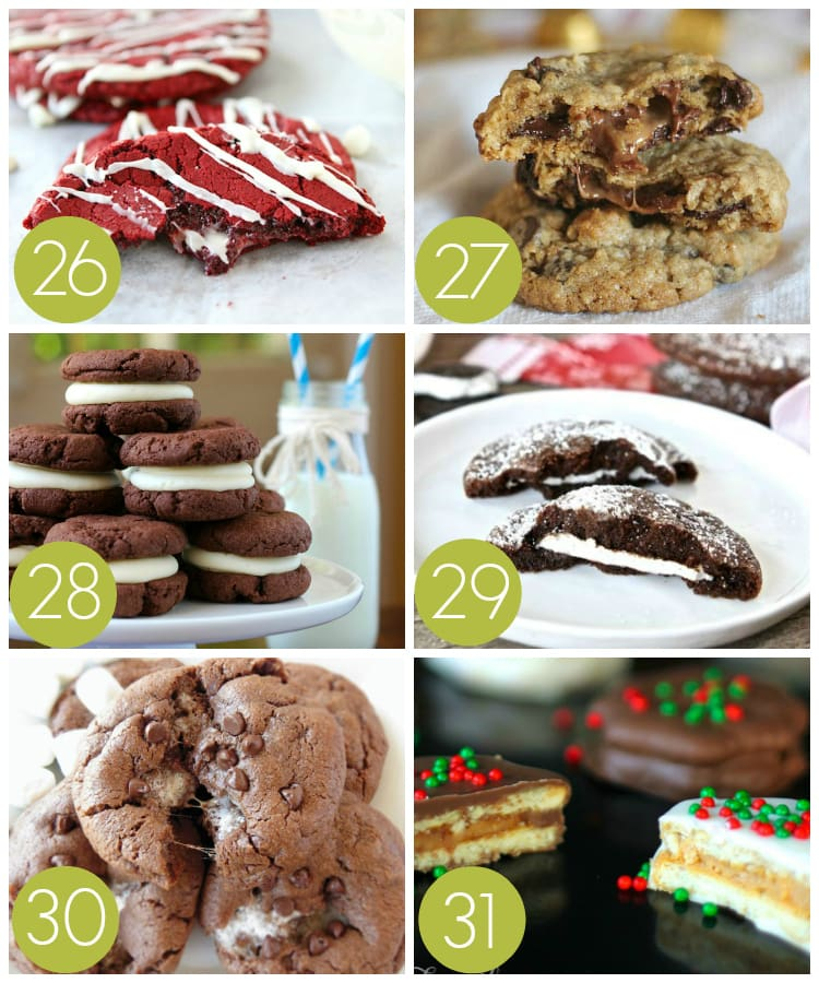 Filled Christmas Cookies