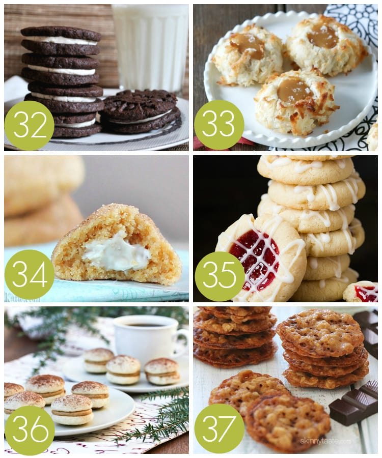 Filled and Stuffed Cookie Recipes for an Exchange Party