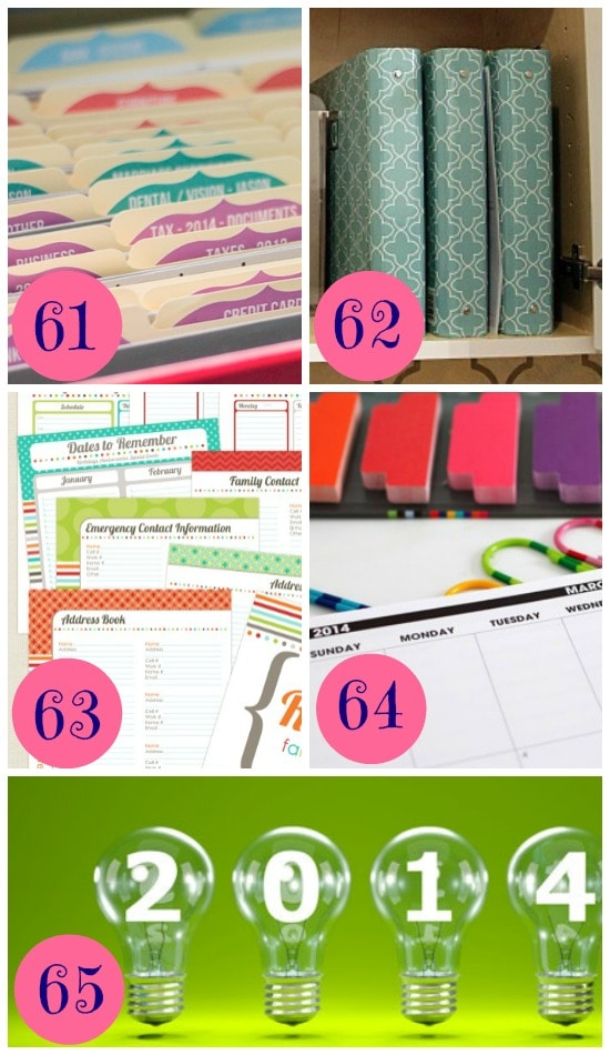 15 Ways to Organize your Finances and Paperwork