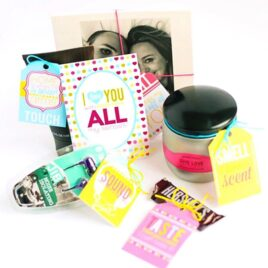 Five Senses Gift easy idea for your Spouse!