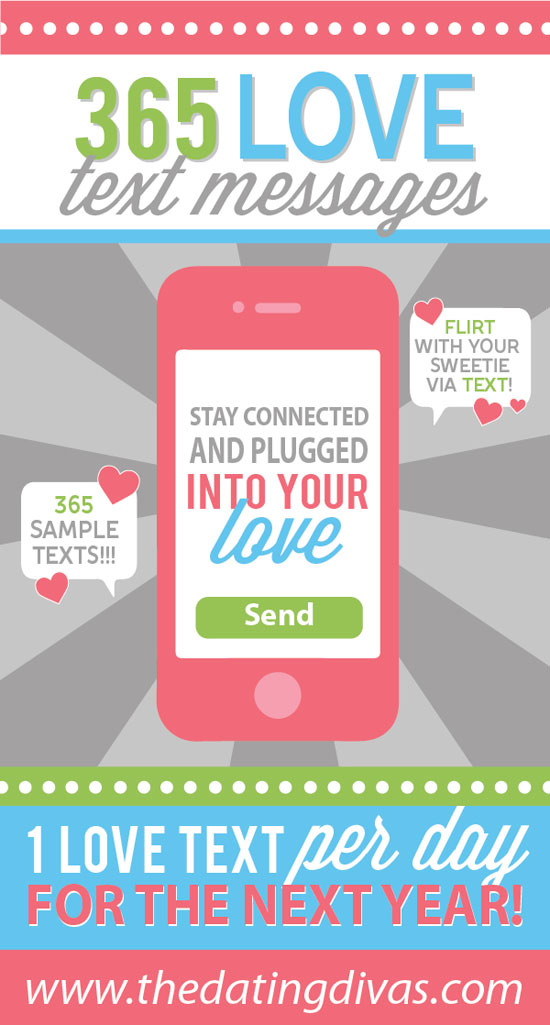 Loving this flirty text printable pack full romantic text messages for him and for her! #TheDatingDivas #RomanticTextMessages