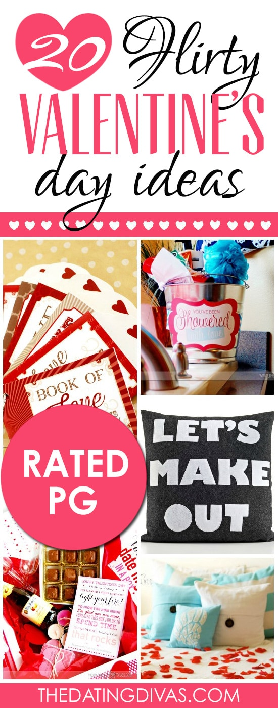 20 Flirty Valentine's Day Ideas