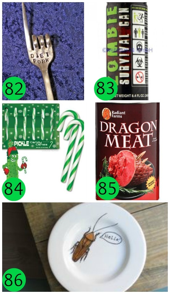 Food and Utensils Gag Gifts