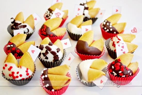 DIY Valentine Fortune Cookie Gift