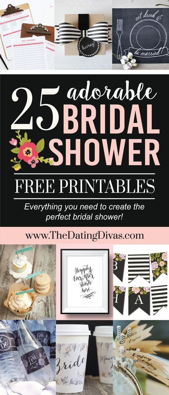 5e9ccdbf1e1 Over 100 Bridal Shower Ideas - from The Dating Divas