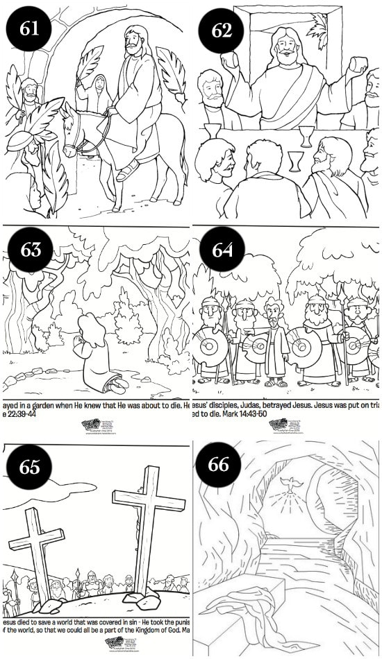 Free Christ-Centered Easter Coloring Pages for Kids