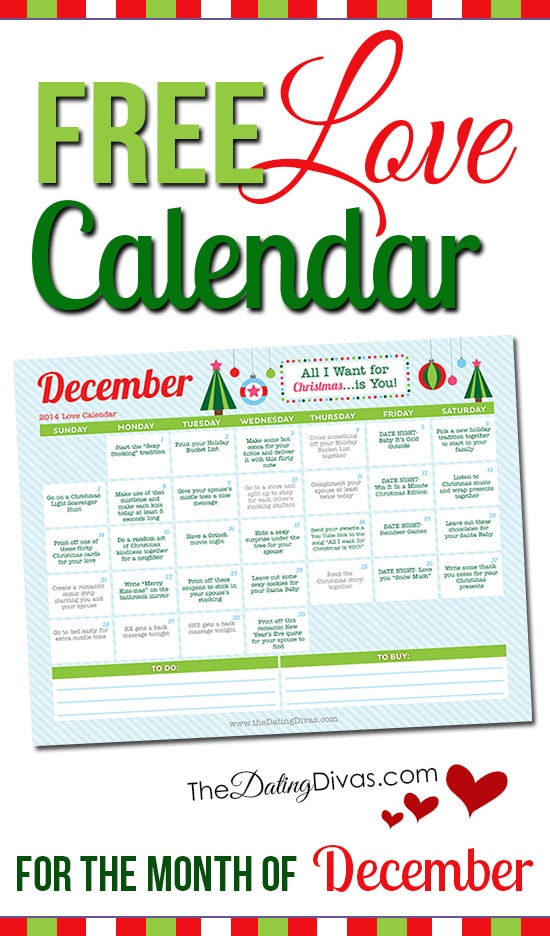 Dating divas december kalender