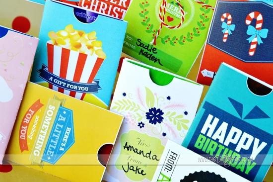 Printable Gift Card Holder
